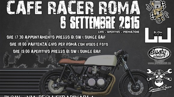 3° compleanno CAFE RACER ROMA