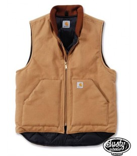 Duck Vest Carhartt marrone