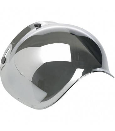 BILTWELL Bubble Shield VISIERA Chrome Mirror