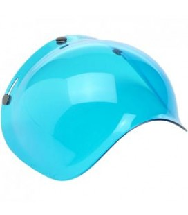 BILTWELL Bubble Shield VISIERA Blue Solid