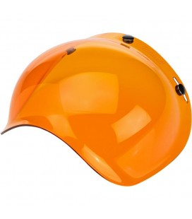 BILTWELL Bubble Shield VISIERA Amber Solid