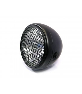 "7.7"" SCRAMBLER HEADLIGHT BLACK"