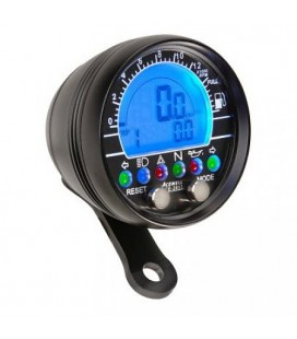 Acewell 2853 Speedometer and tachometer - Black