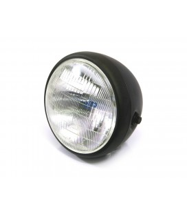 "7.5"" CAFE RACER MATTE BLACK HEADLIGHT"