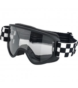 Goggles, Moto 2.0, Checkers Black/White