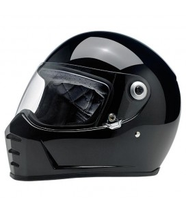 BILTWELL Lane Splitter Helmet, ECE Approved, Gloss Black