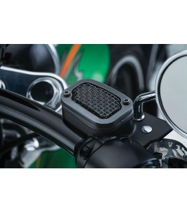 Brake Master Cyclinder Cover, Mesh, Satin Black