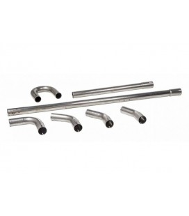 STAINLESS 38MM DIY EXHAUST TUBING PARTSDIY Exhaust Tubing Kit, for making your own exhaust systeem