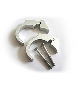 motogadet handle bar clip kit 22mm, polished