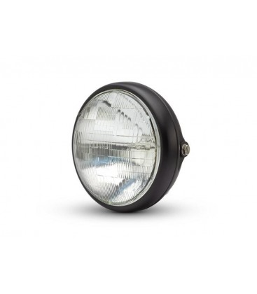 "7"" SHORTY METAL HEADLIGHT"