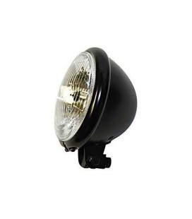 "Bates Headlight 5"" 3/4 Black"