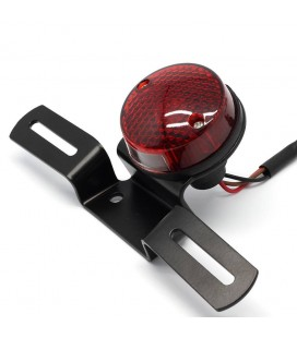 CAFE RACER TAIL LIGHT WITH PLATE HOLDER