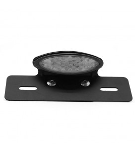 LED CLEAR TAIL LIGHT WITH PLATE HOLDER