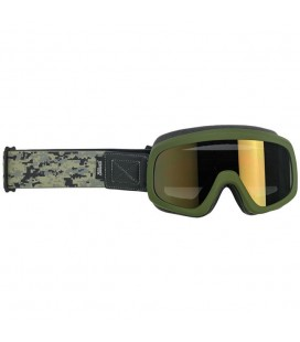 Grunt Overland Goggle 2.0, Satin Olive Green Camo
