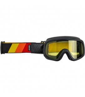 Tri-Stripe Overland Goggle 2.0, Red, Yellow, Orange