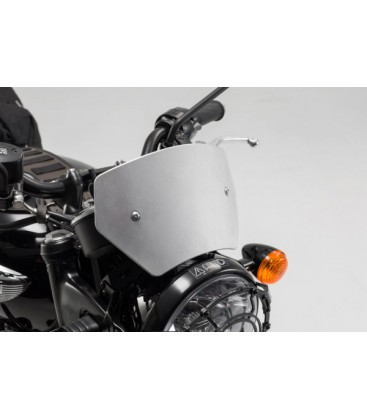 SW-MOTECH Windscreen Silver. TRIUMPH Bonneville T120 (from 2015)