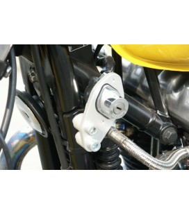 LSL Ignition relocation kit Bonneville/Thruxton, silver