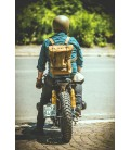 Leather motorcycles Bag