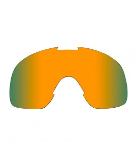 BILTWELL OVERLAND GOGGLE LENS LIME MIRROR BROWN