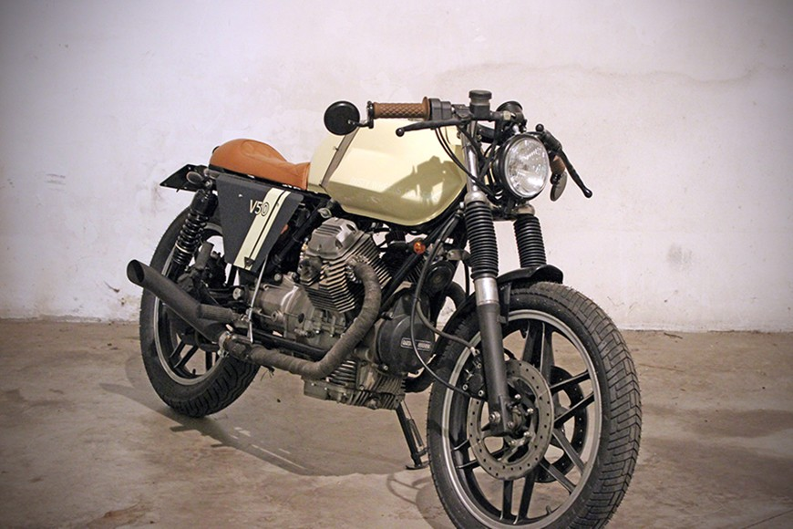 "Guzzi V50 ""Dusty Eagle"""