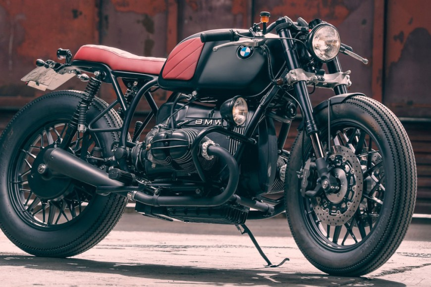 "Cafe Racer Dream BMW r100 ""Stolen"""